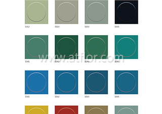 Single Color Round Floating Point Rubber Floor