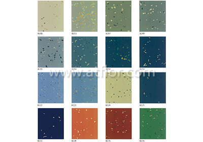 Compound-color Cloud Pattern Rubber Floor