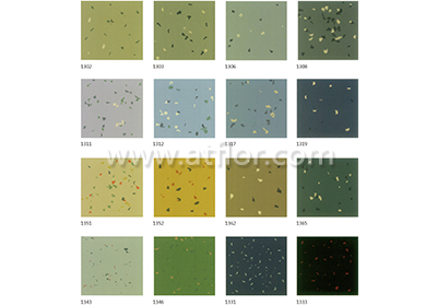 Glazed Surface with Star Granule Rubber Floor